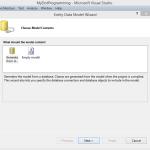 Basic CRUD operation using Entity Framework and ADO.NET